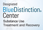 Designated BlueDistinction® Center Substance Use Treatment and Recovery