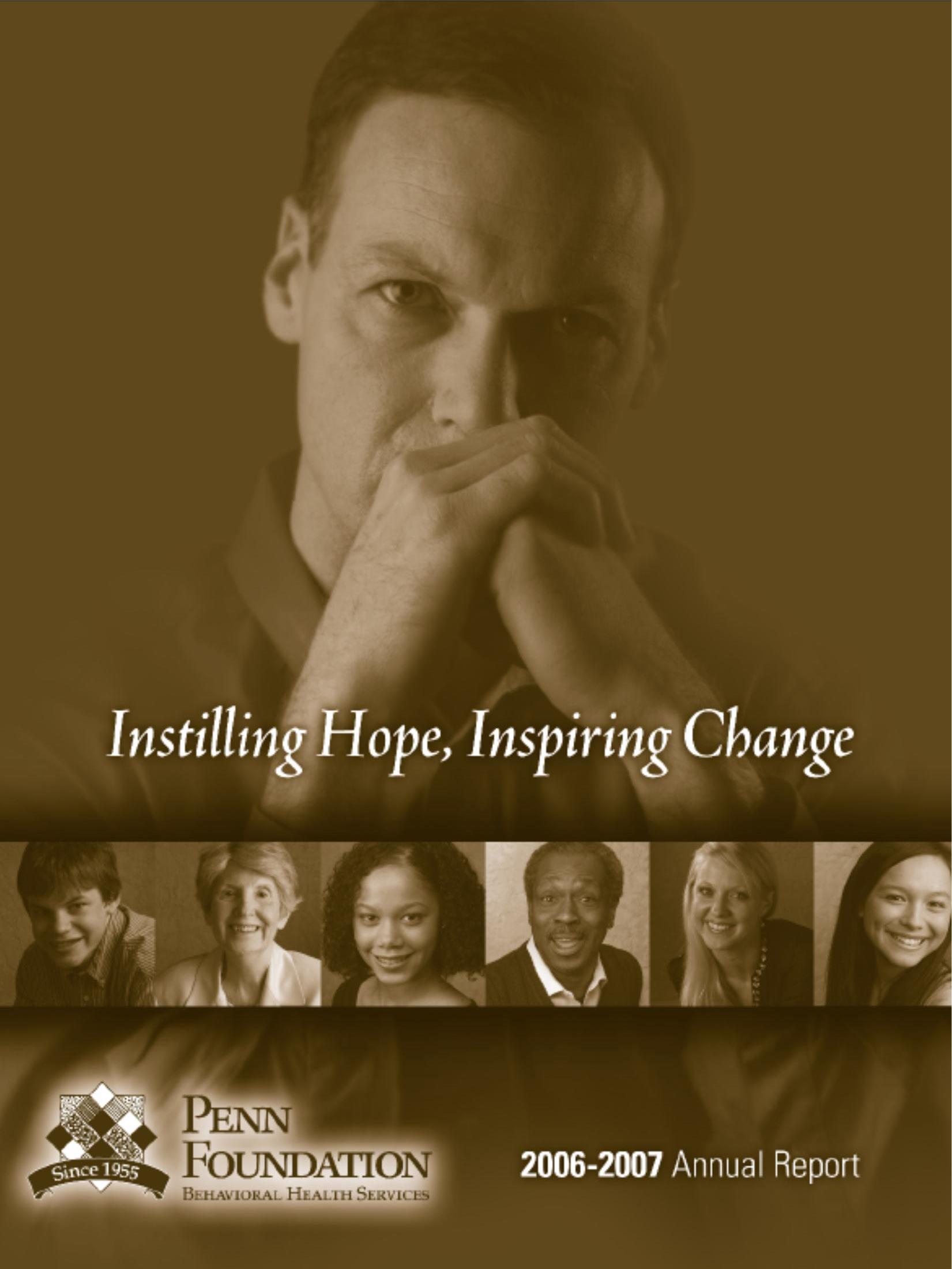 2007 Annual Report Cover