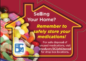 Selling your home? Remember to safely store your prescriptions!
