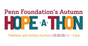 penn foundations autumn hope-a-thon